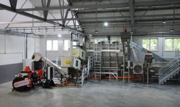 Linia do recyklingu tworzyw sztucznych