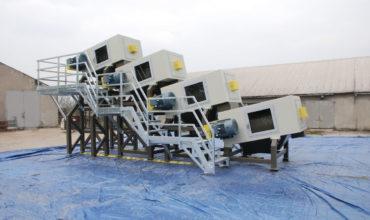 S-30 X4 zestaw myjek do recyklingu