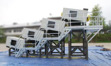 S-30 X3 zestaw myjek do recyklingu