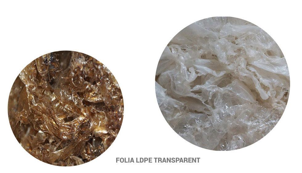 Recykling folii